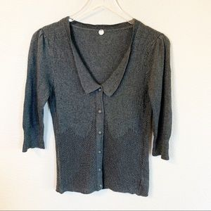 Margaret O'Leary Embossed Cardigan